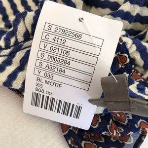 Anthropologie Tops - One September Anthropologie Top Striped Ruched 🌹